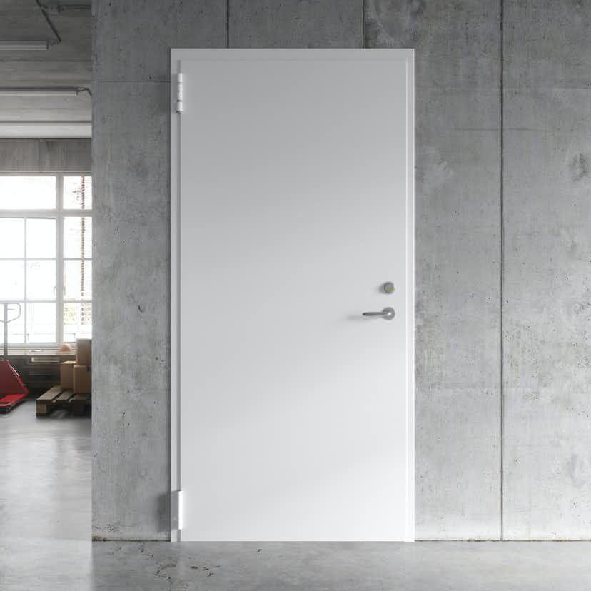 Steel door Swedoor WxH: 120×210 mm, Right