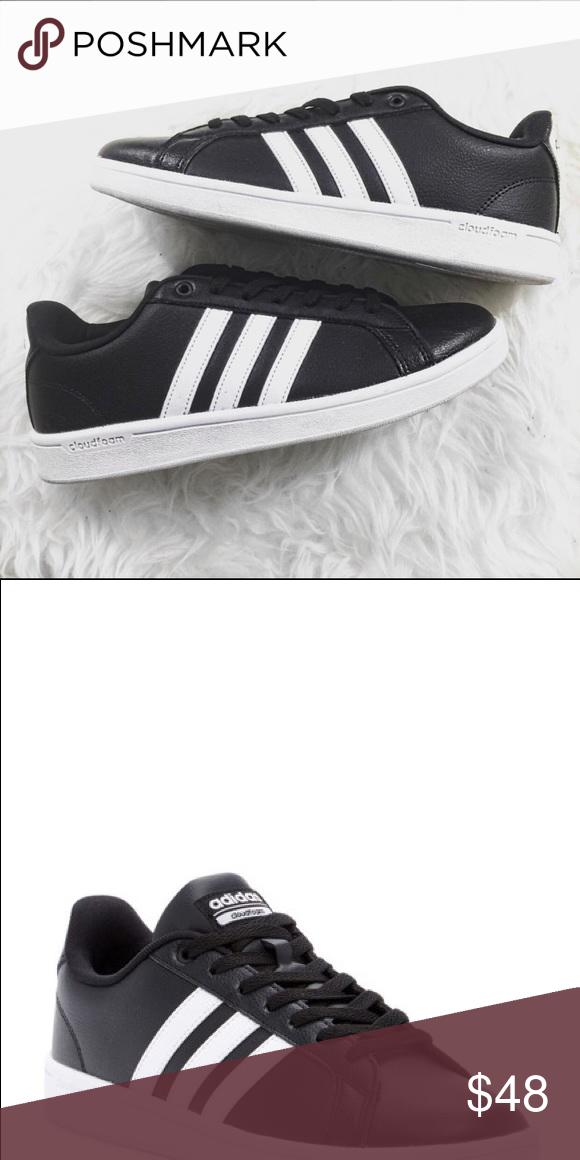 adidas cloudfoam leather shoes
