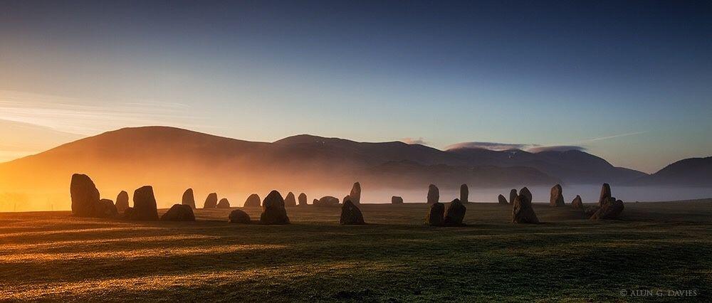 Dawn at Castlerigg Stone Circle, near Keswick, Cumbria by Alun Davies on 500px