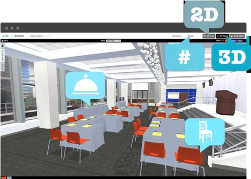 3D Event Designer