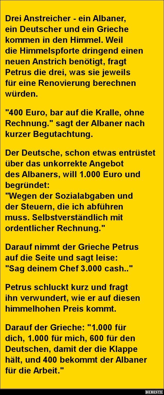 Drei Anstreicher Ein Albaner Ein Deutscher Und Ein