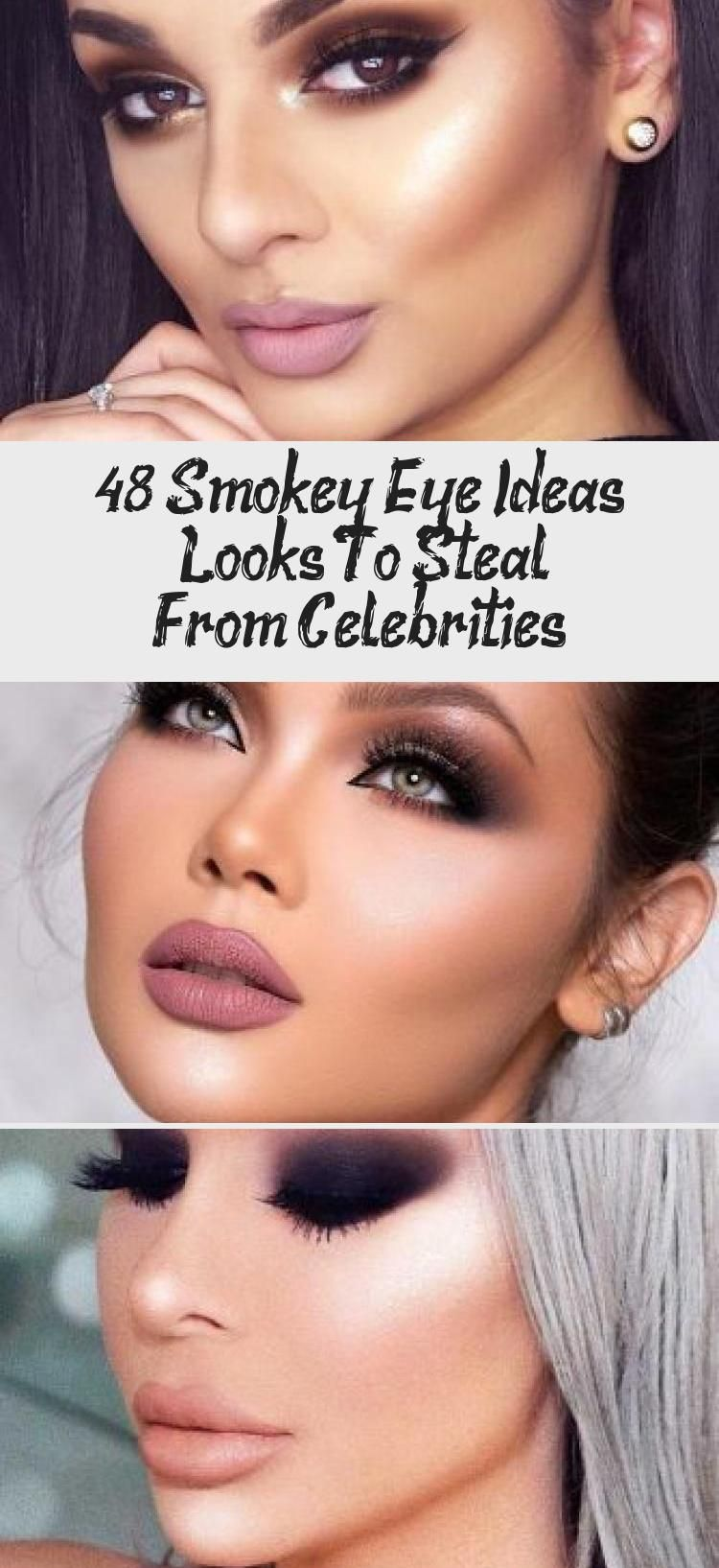 Photo of 48 Smokey Eye Ideas & Looks To Steal From Celebrities – Eye Makeup