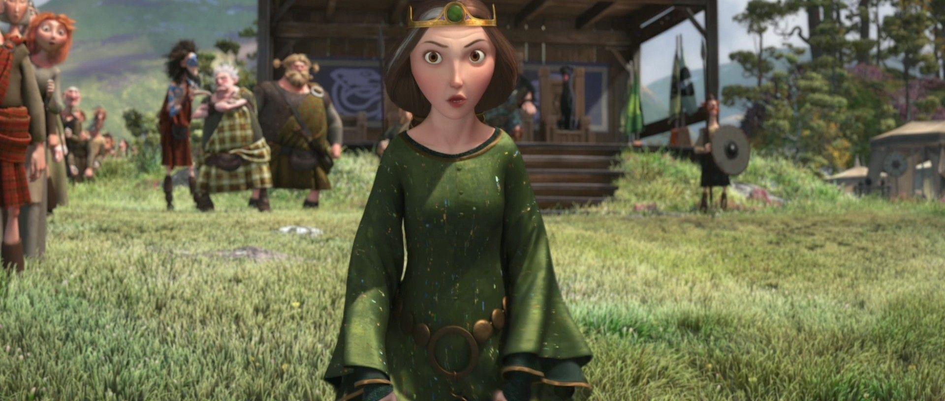 Queen Elinor (Emma Thompson) - Brave (2012)