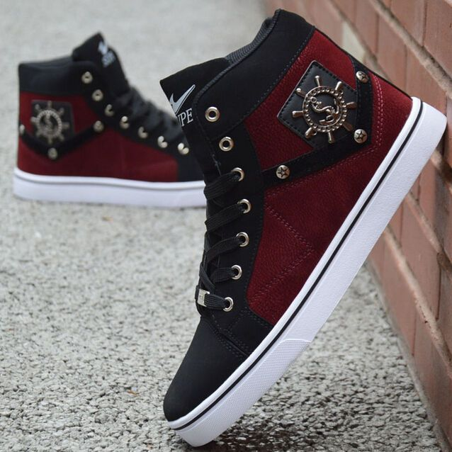 New Fashion 2015 Men's Casual High Top Sport Sneakers Athletic Running Shoes in Clothing, Shoes & Accessories, Men's Shoes, Athletic   eBay #fashion2015