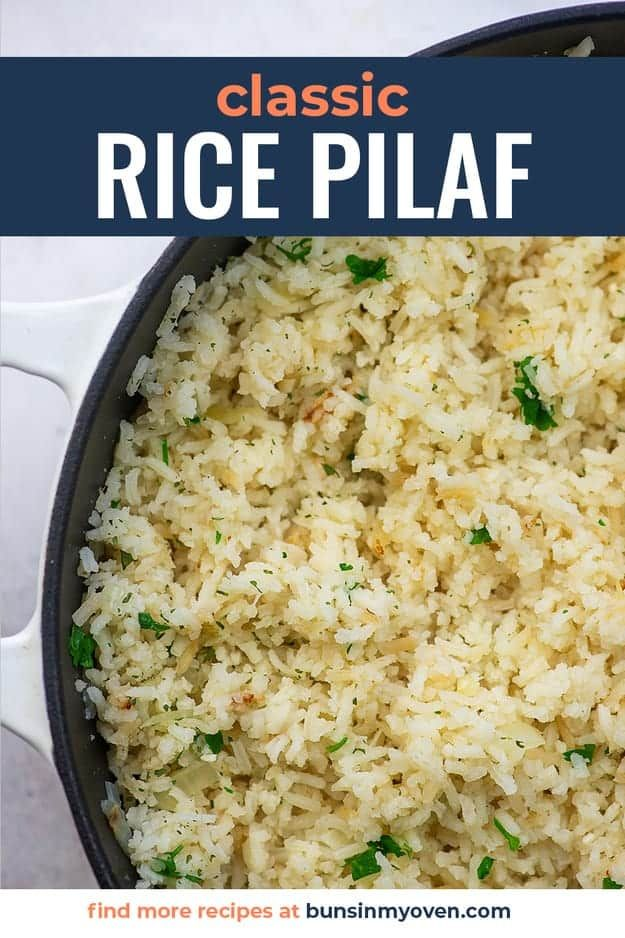 Photo of Classic Rice Pilaf Recipe — Buns In My Oven