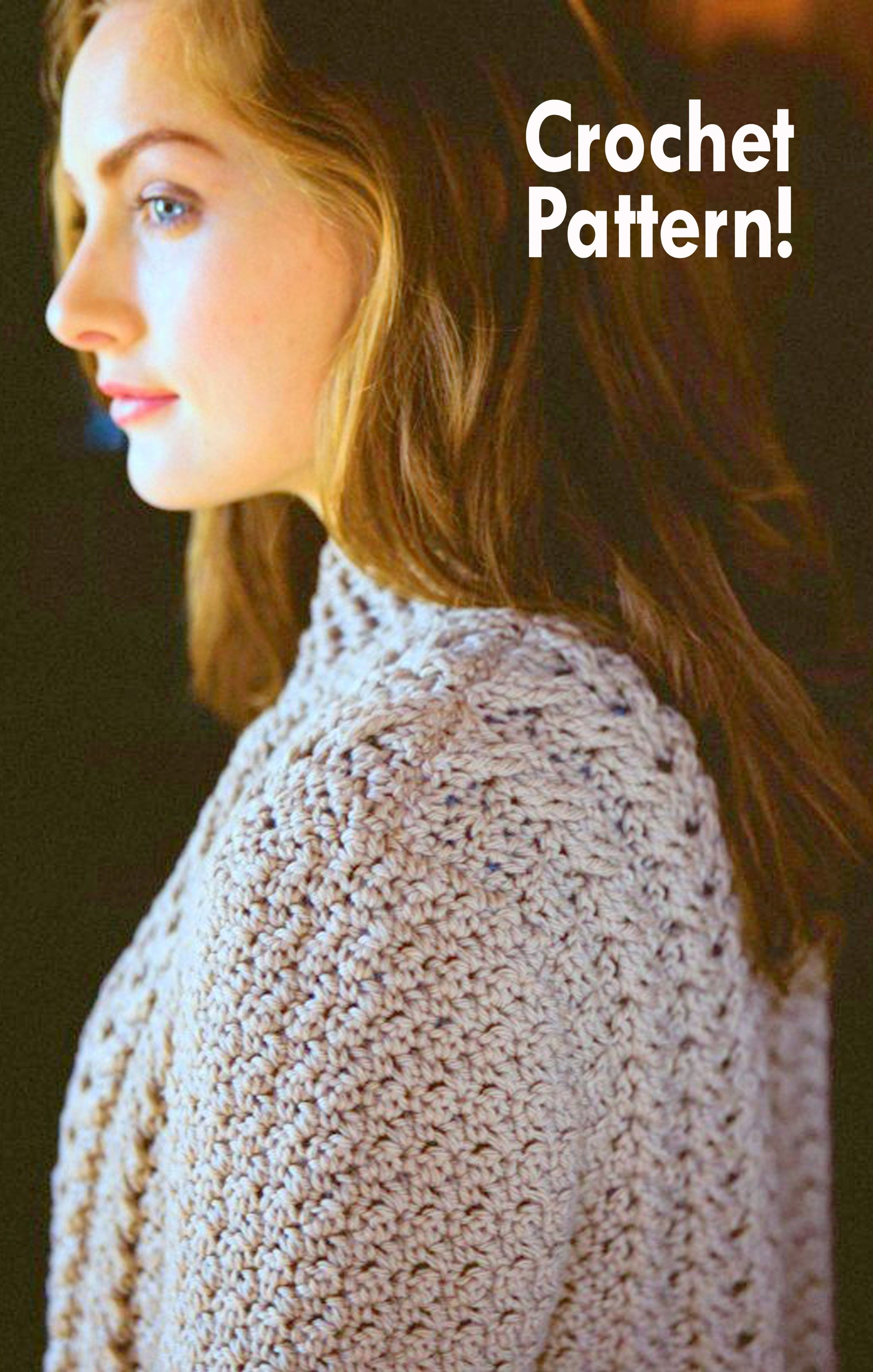 Crochet Patterns for Modern Cabled Garments, crochet pattern Accessories,  Crochet Pattern poncho, Crochet Pattern shawl, Crochet Pattern hats, ...