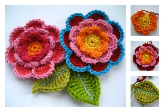 How to Make Triple Layer Flower | UsefulDIY.com