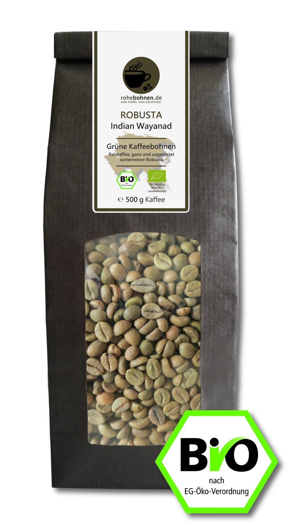 Wir führen in unserem Sortiment hochwertige Biokaffees aus