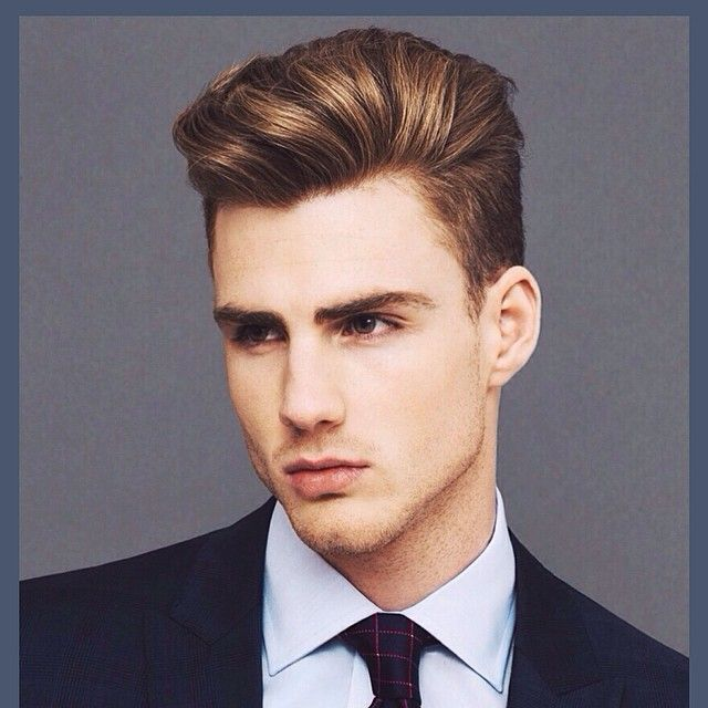Natural Haircut With Highlights For Men Hair Pinterest Hair