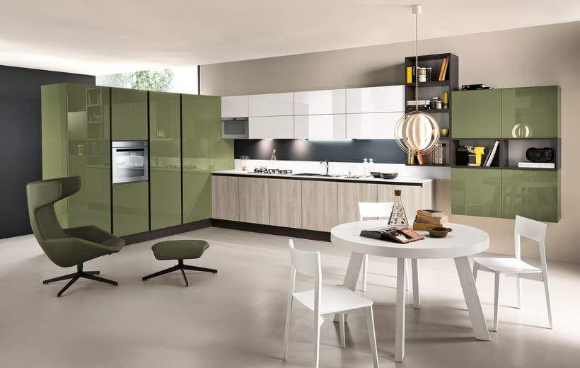 Cucine Moderne - Sand - Verde - Febal Casa   cucine   Pinterest ...