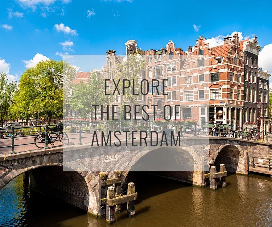 Ahhhh love Amsterdam In the city