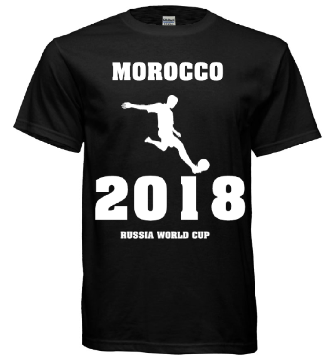 23c0d7b257e Morocco Soccer Jersey World Cup 2018