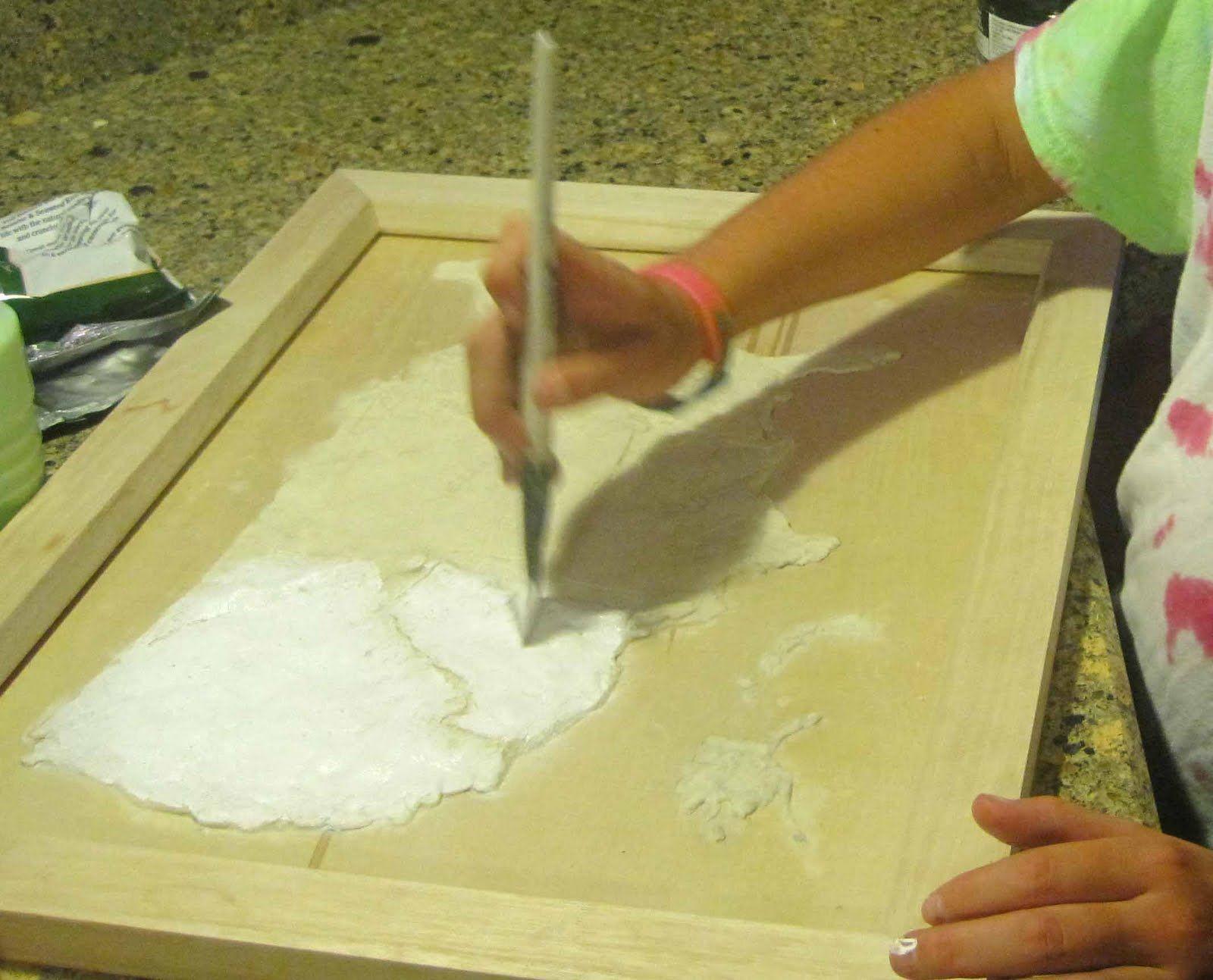 Activity Salt dough map of the USA