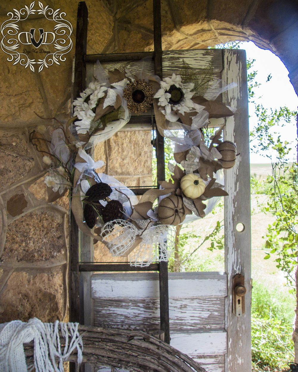 Photo of All Natural Wreath – Deja Vue Designs
