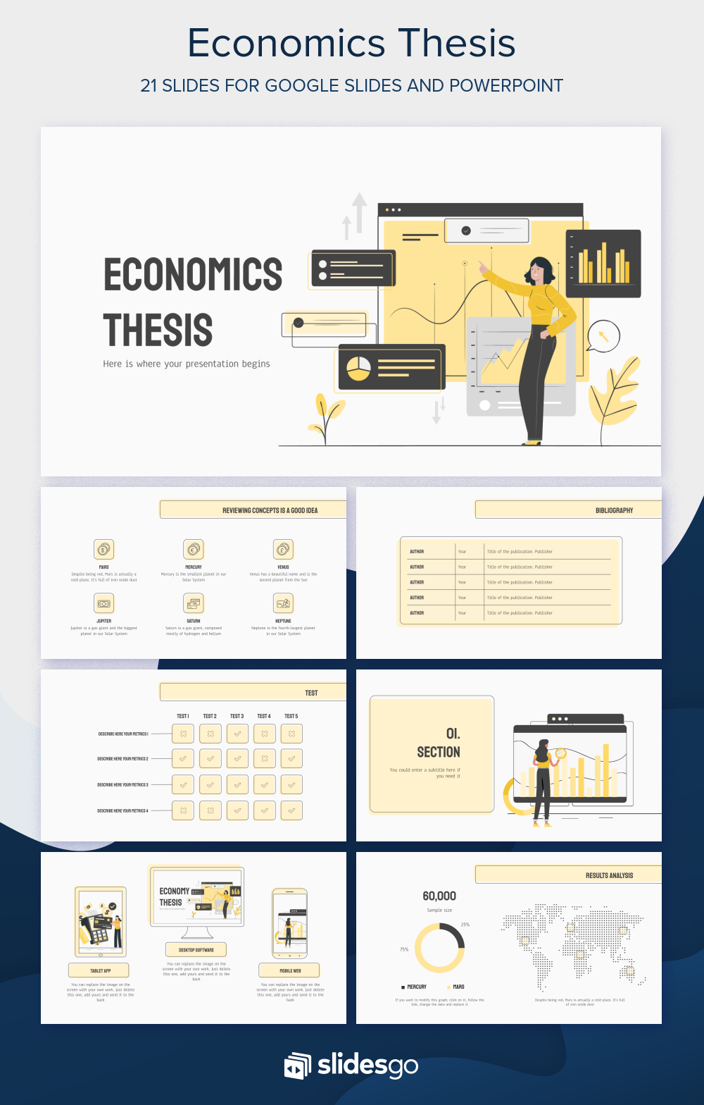 Thesis for masters in economics