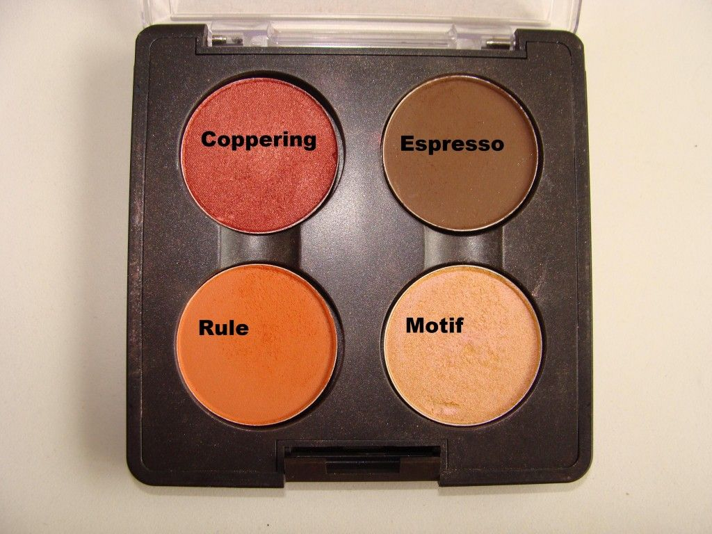 mac coppering eyeshadow