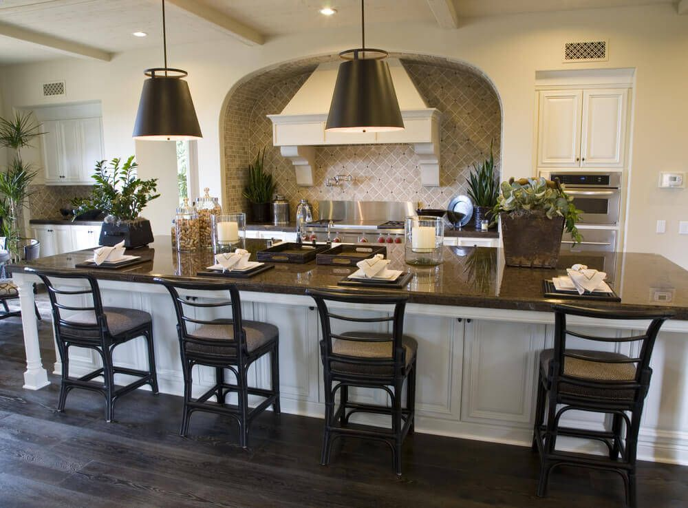 39 fabulous eat-in custom kitchen designs | galley style kitchen