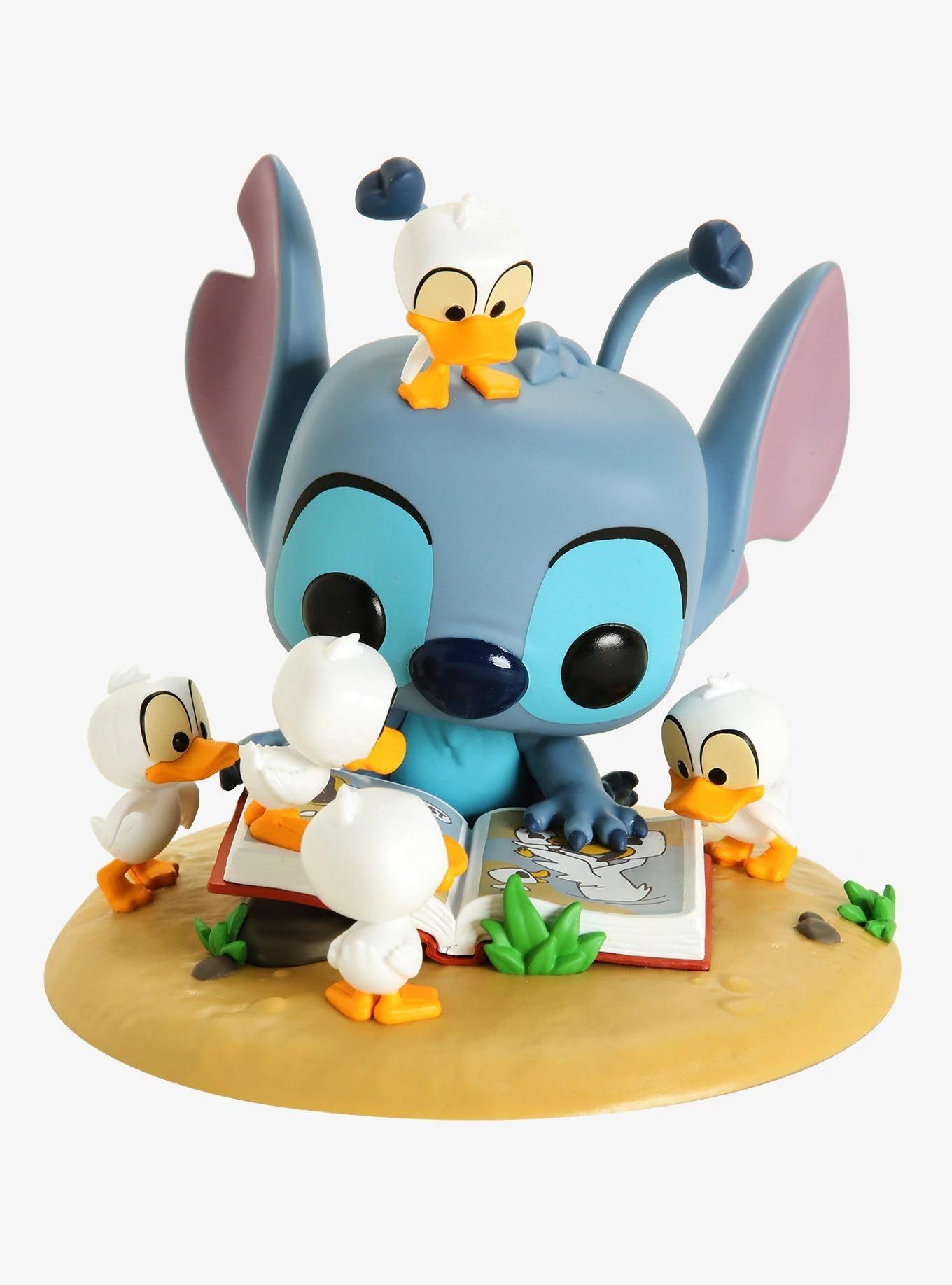 Funko Pop! Disney Lilo & Stitch Stitch with Ducks Vinyl Figure - BoxLunch Exclusive