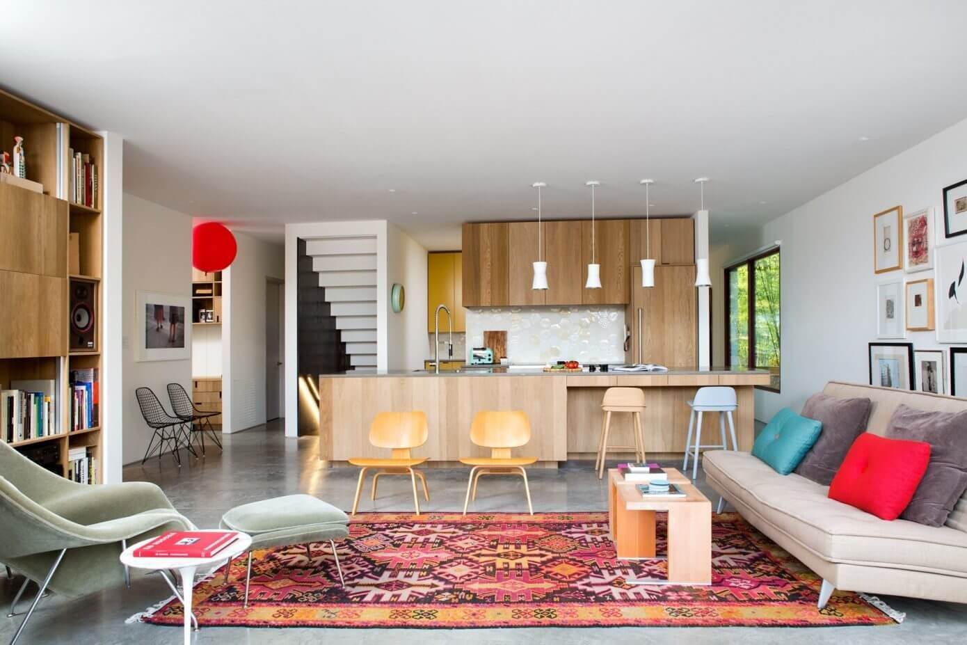 Modern two storey house located in Vancouver Canada