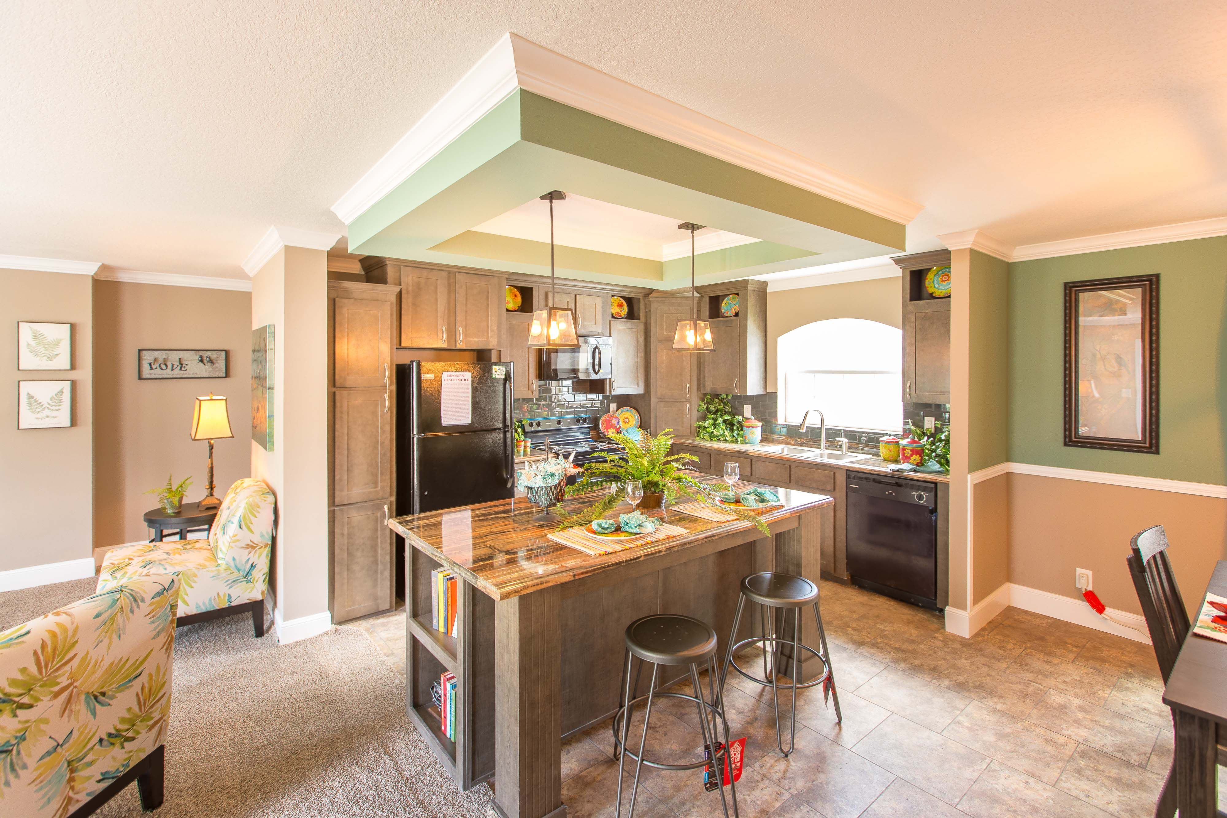 Manufactured Homes by Marty Wright Home Sales - Kitchen
