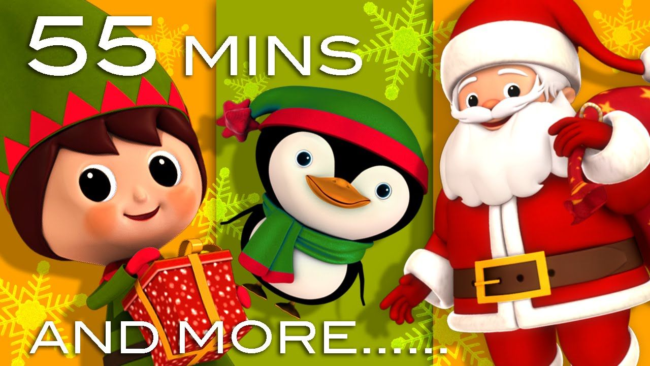 Jingle Bells | Christmas Songs | And More Children's Songs! | 56 Minutes...