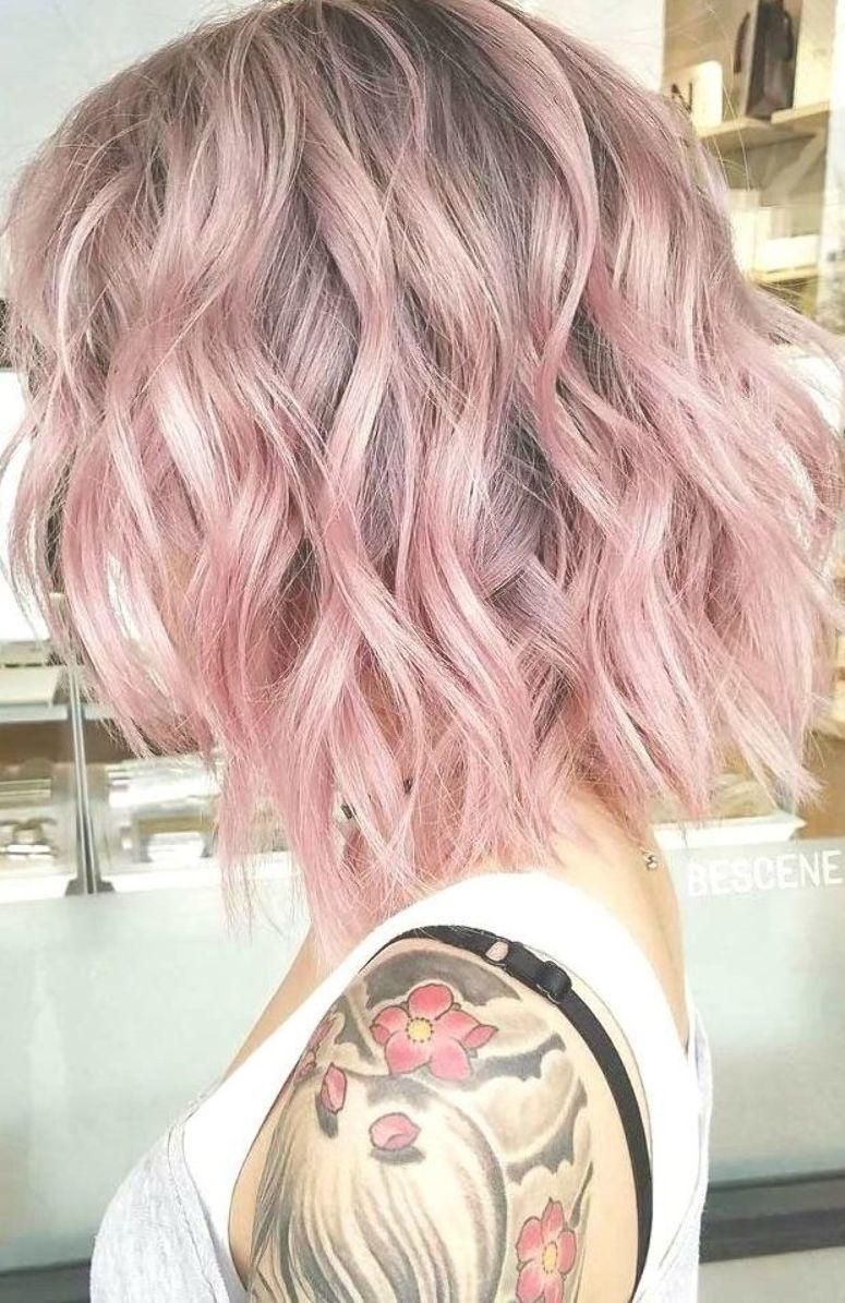 Classy 85 Pastel Pink Hair Ideas Hairandhairstyles Haircolour Hairdo Hairfashion Hairideas Hairoft Pink Hair Dye Pastel Pink Hair Dye Short Wavy Hair