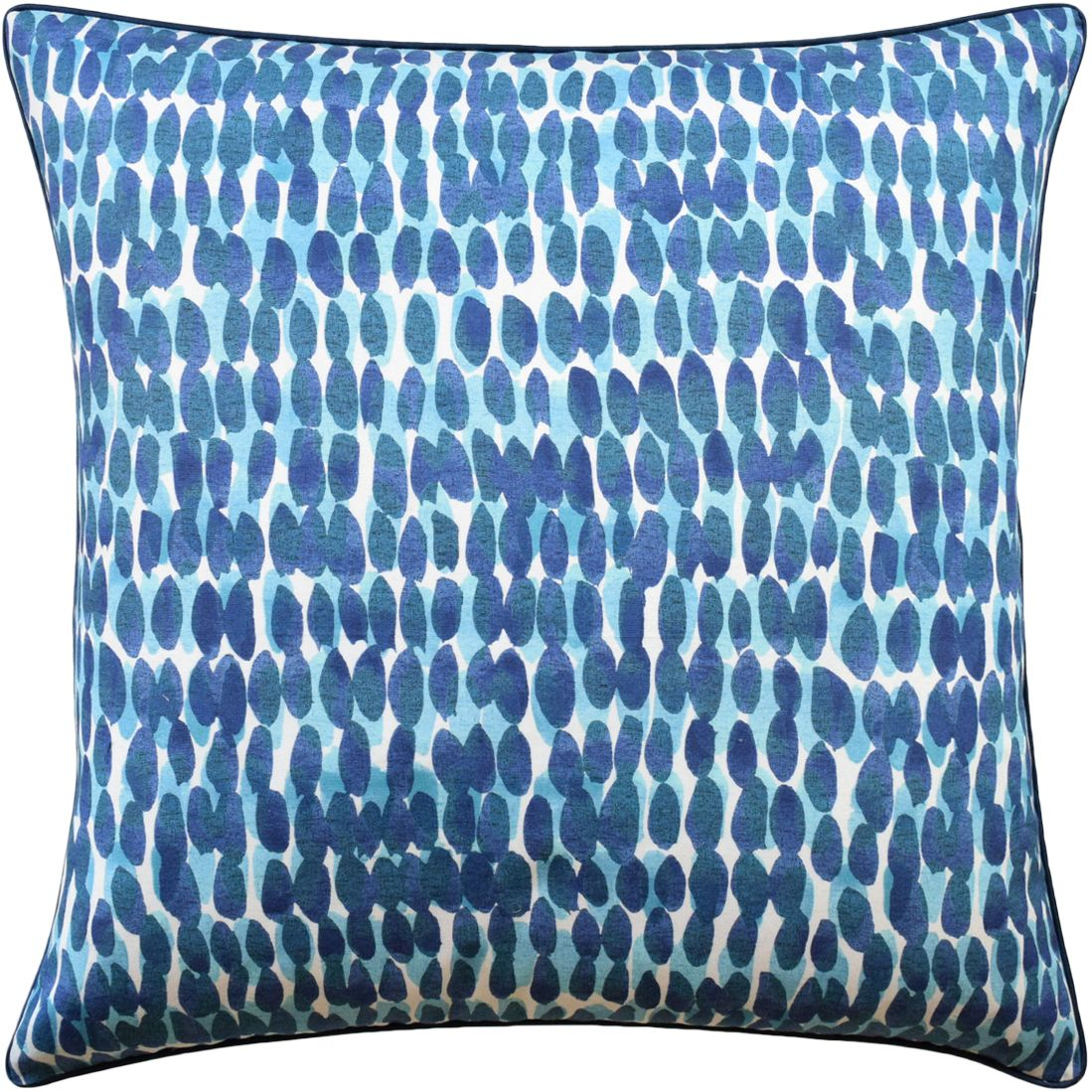 Rain Water Cotton Pillow In Blue And Turquoise Available In Different Sizes In 2020 Turquoise Pillows Pillows Turquoise Bedding