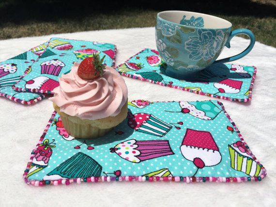 Cupcake Party Table Accessorie Decor Cupcake by LasmasCreations