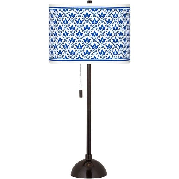 Arabella giclee glow tiger bronze club table lamp 100 liked on this club style bronze table lamp comes with a beautiful arabella pattern printed onto the drum shade onoff pull chain aloadofball Gallery