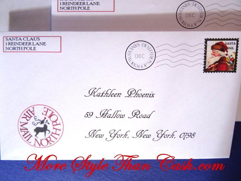 Free Letter From Santa Printable  Santa Free And Envelopes
