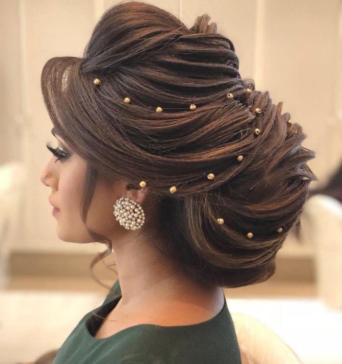 Pakistani Hairstyles Buns: Stunning Hairstyle Inspirations From Pakistani Brides