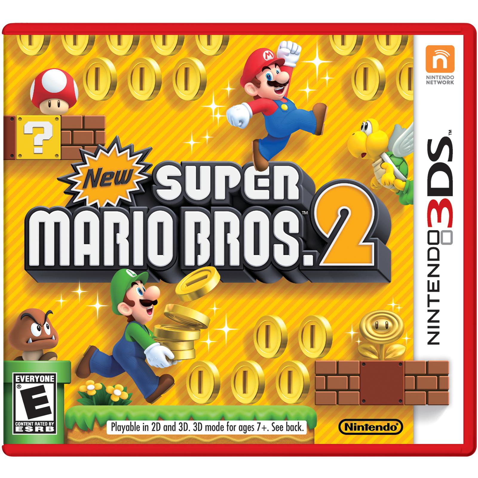 Details About New Super Mario Bros 2 Nintendo 3ds 2012 Mario Bros Nintendo 3ds Super Mario Bros
