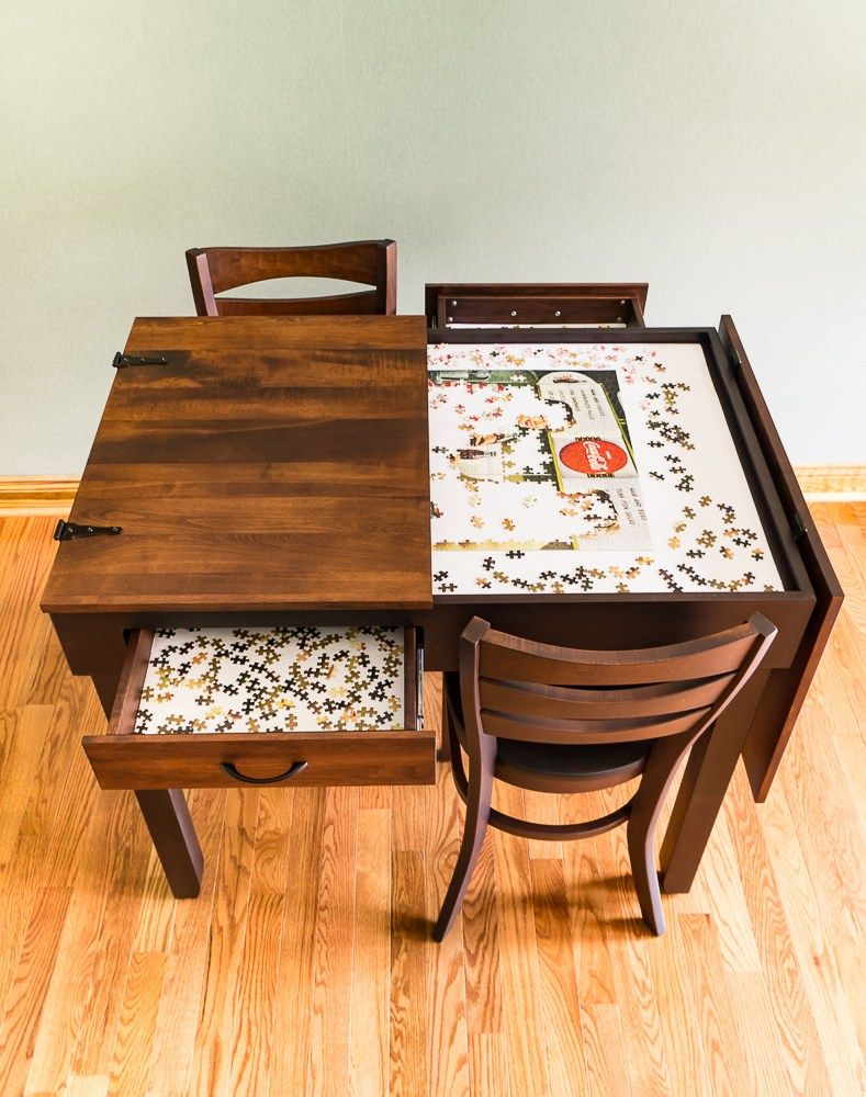 Pub Height Jigsaw Puzzle Table In 2020 Puzzle Table Jigsaw