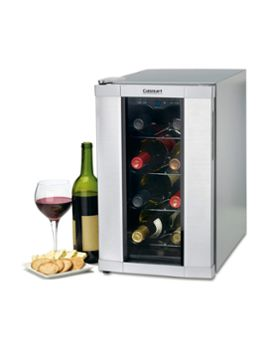 Private Reserve 8 Bottle Wine Cooler from Design for Stylish Guys: Barware, Books