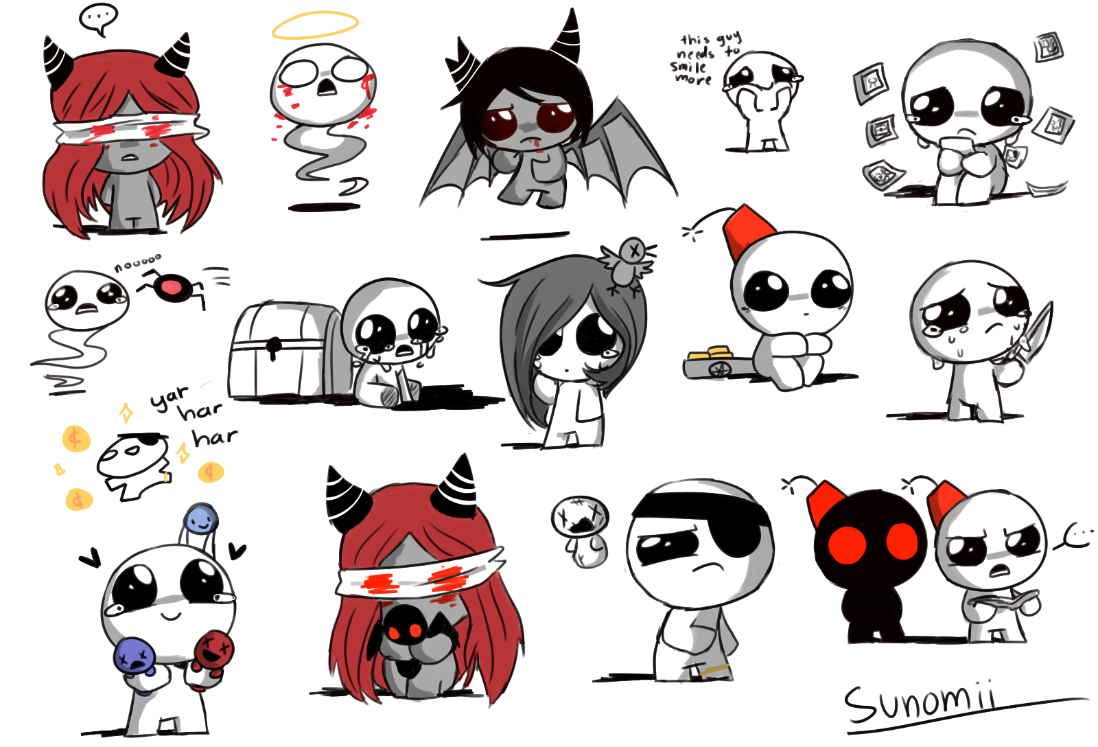 Nd1sgr7 Png 1600 1088 The Binding Of Isaac Isaac Art Prints Quotes