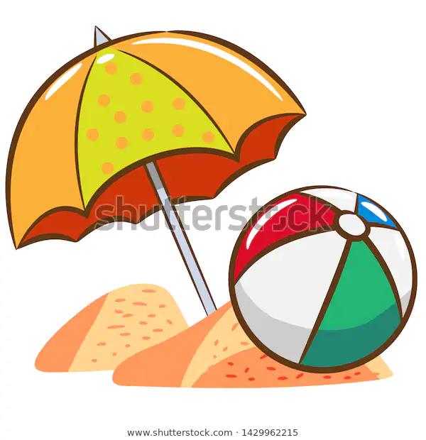 Cartoon Beach Ball Ad Paid Affiliate Ball Beach Cartoon Cartoon Beach Beach Ball