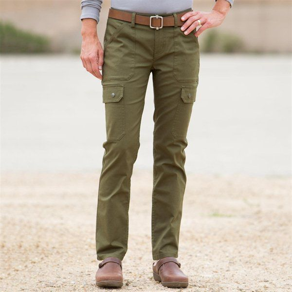 Duluth slim leg cargo pants. I haven't tried this style yet, but ...