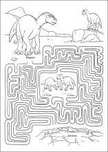 Jeu de dinosaures dinosaure fete enfant anniversaire pinterest jeux labyrinthe et jeux - Jeux de coide et de moto gratuit ...