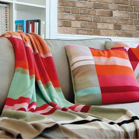 Plaid Pour Canape Raye Stripes Pour Embellir Et Rendre Votre