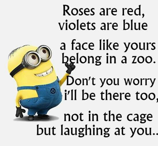 Roses are red, violets are blue...