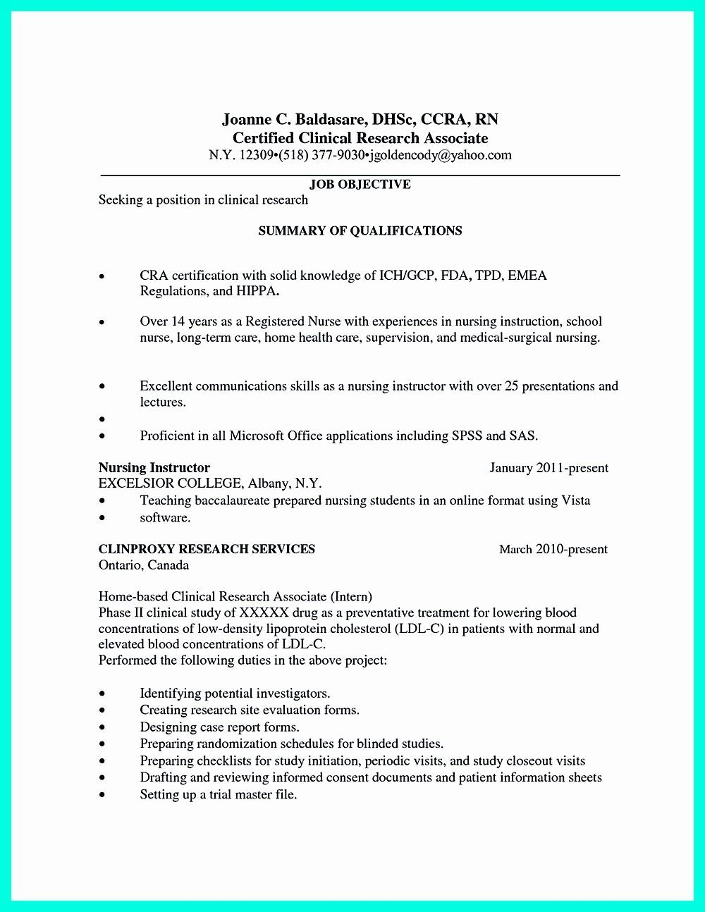 20 Nursing Clinical Experience Resume Medical Assistant Resume
