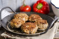 Sundried Tomato and Turkey Burgers with Avocado Cream - ground turkey, oil packed sundried tomatoes, fresh basil, dijon, red pepper flakes, avocado, mayo, lemon