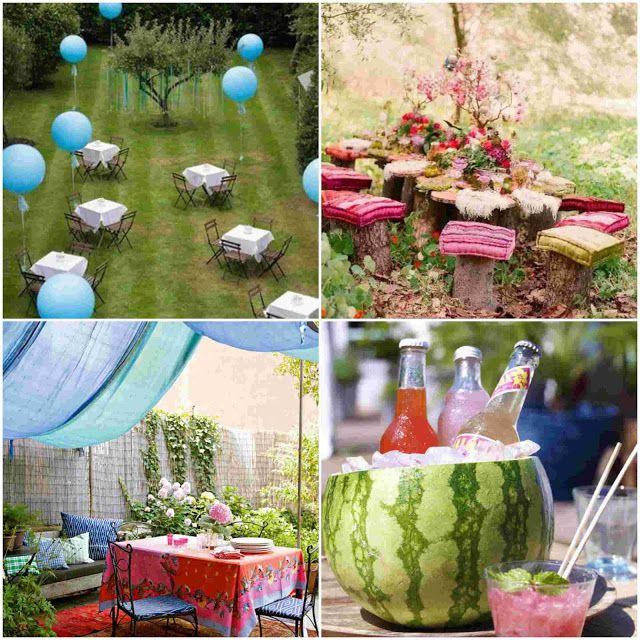 Cool Garden Party decoration Ideas | Garden | Pinterest