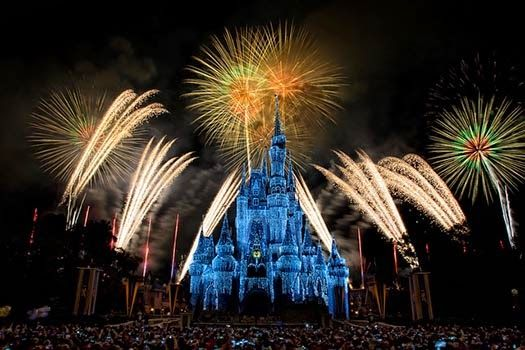 new year firework in disney land usa happy new years eve happy new year 2016