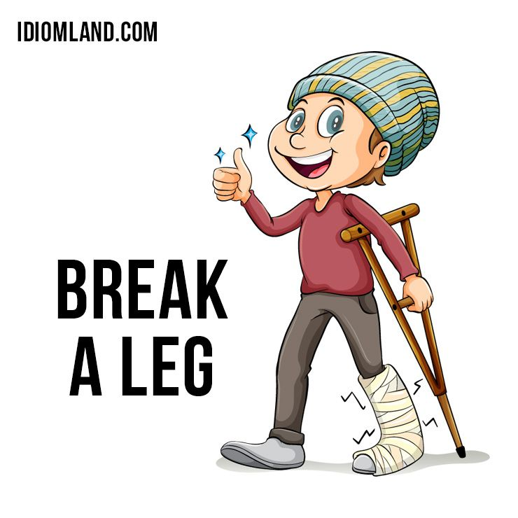 "Translations Into Italian: Hello Everybody! Our #idiom Of The Day Is ""Break A Leg"