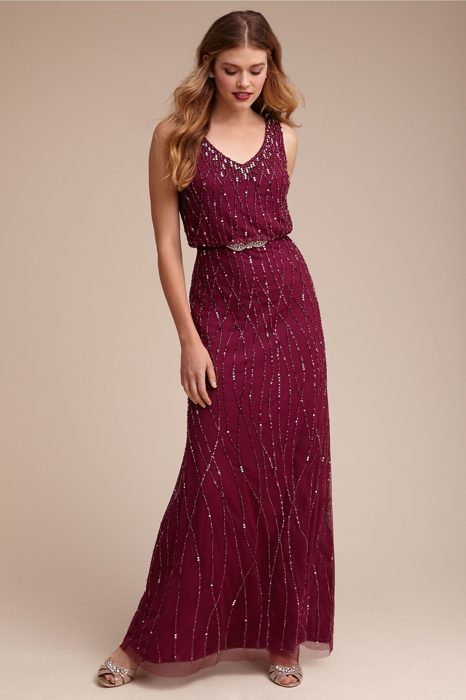 stunning sparkly bridesmaid dresses for a winter wedding