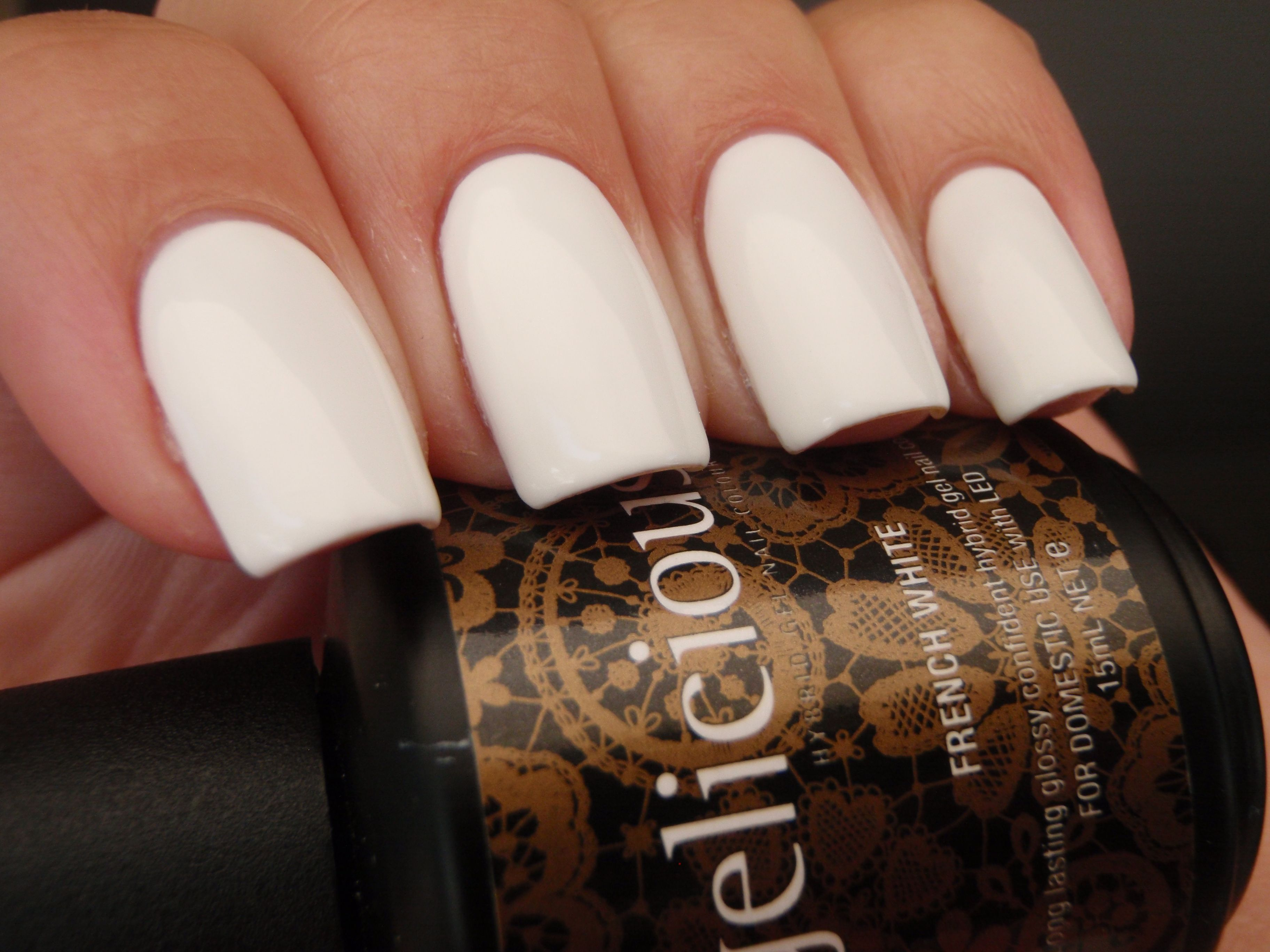 gelicious FRENCH WHITE | gelicious colours | Pinterest | Gel nail ...