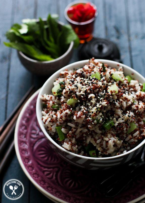 Vegetarian Quinoa Fried Rice