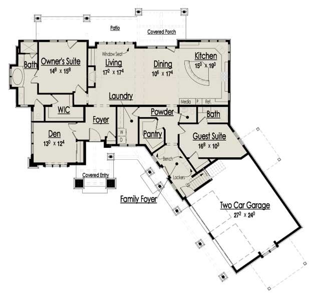 The Red Cottage Floor Plans, Home Designs, Commercial Buildings,  Architecture, Custom Plan