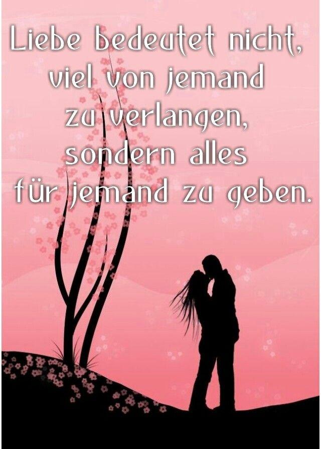 Liebe bedeutet